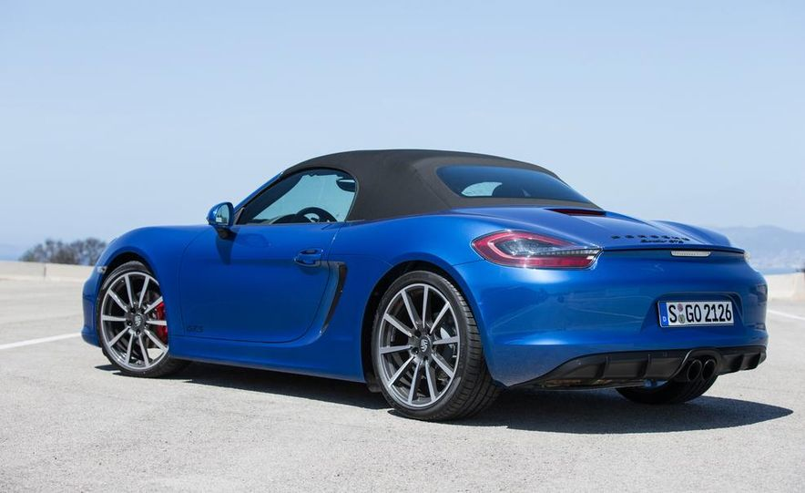 2015 Porsche Boxster GTS - Slide 37