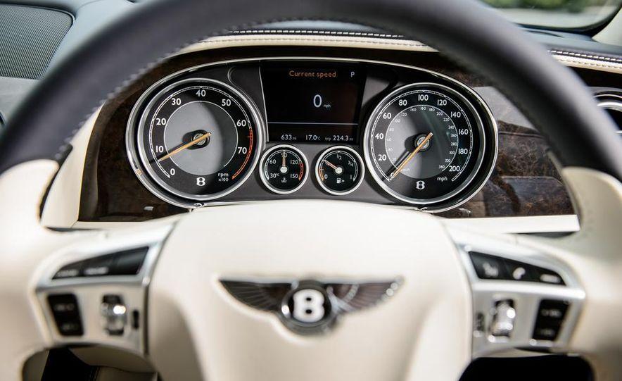 2015 Bentley Flying Spur V8 (Euro-spec) - Slide 72
