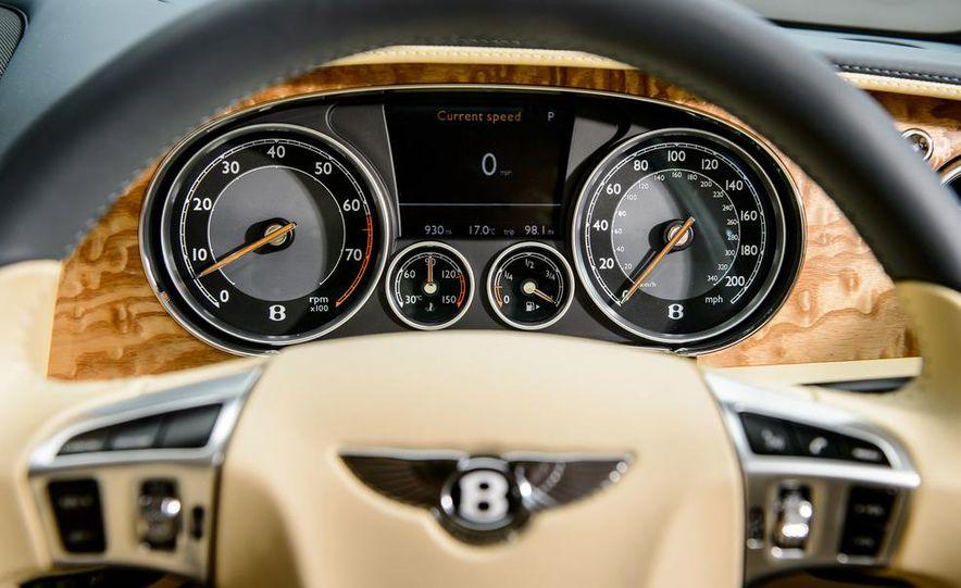 2015 Bentley Flying Spur V8 (Euro-spec) - Slide 97