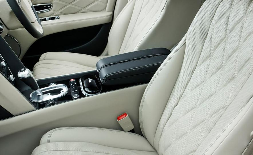2015 Bentley Flying Spur V8 (Euro-spec) - Slide 41