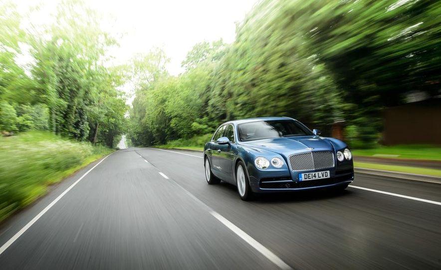 2015 Bentley Flying Spur V8 (Euro-spec) - Slide 2