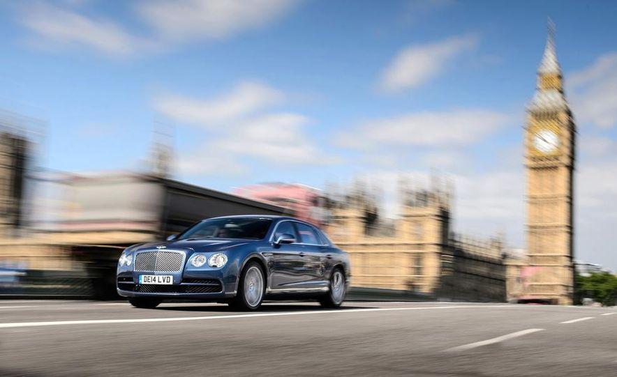 2015 Bentley Flying Spur V8 (Euro-spec) - Slide 11