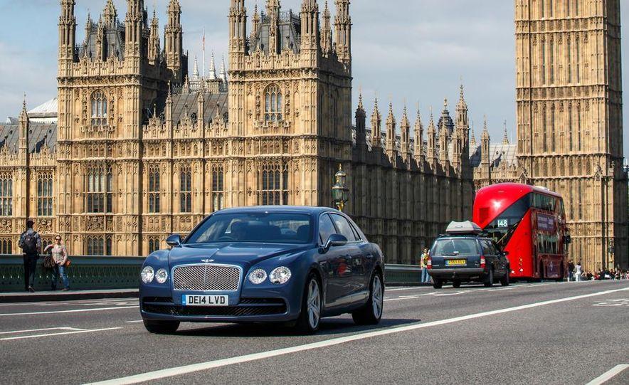 2015 Bentley Flying Spur V8 (Euro-spec) - Slide 12