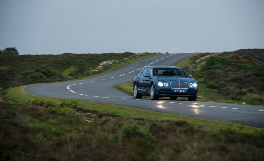 2015 Bentley Flying Spur V8 (Euro-spec) - Slide 13