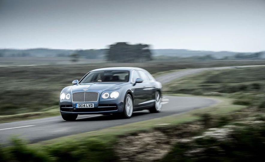 2015 Bentley Flying Spur V8 (Euro-spec) - Slide 14