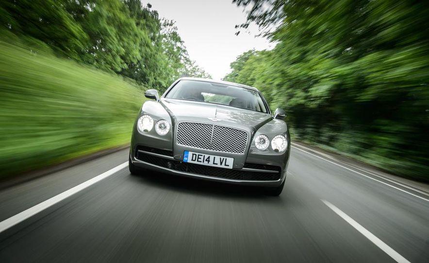 2015 Bentley Flying Spur V8 (Euro-spec) - Slide 36