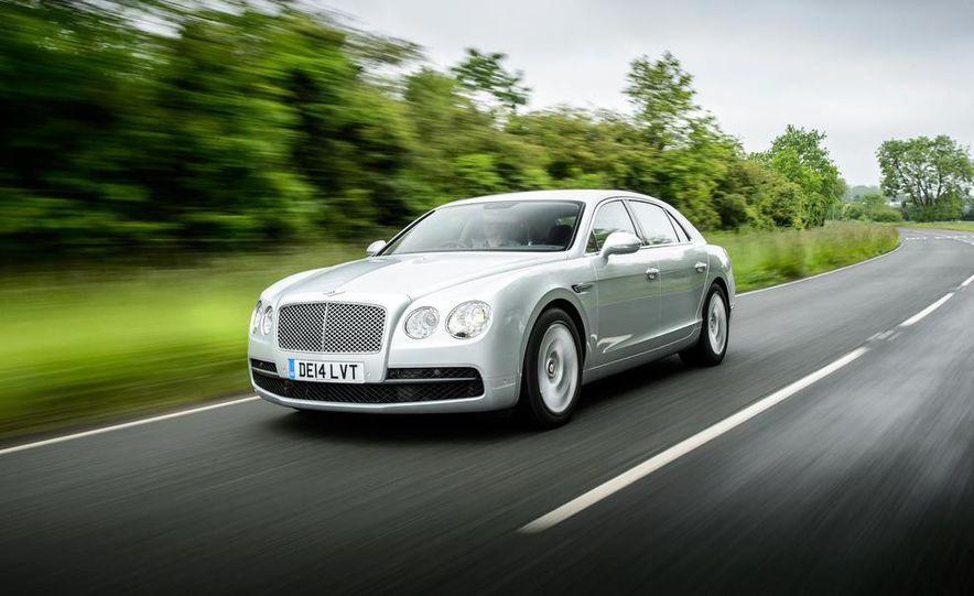 2015 Bentley Flying Spur V8 (Euro-spec) - Slide 44