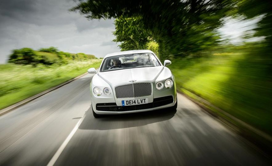 2015 Bentley Flying Spur V8 (Euro-spec) - Slide 45