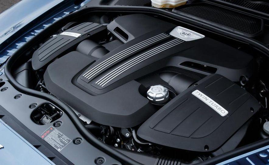 2015 Bentley Flying Spur V8 (Euro-spec) - Slide 31