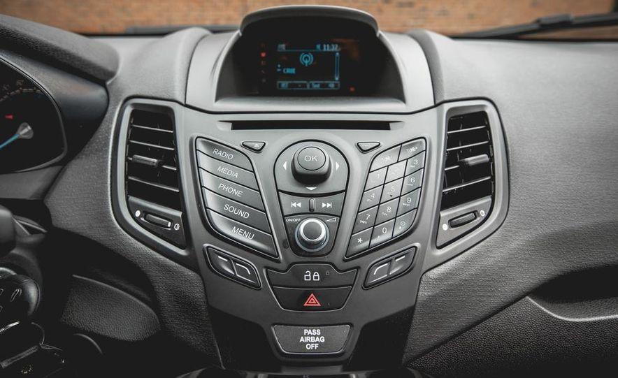 2014 Ford Fiesta 1.0L EcoBoost SFE sedan - Slide 39