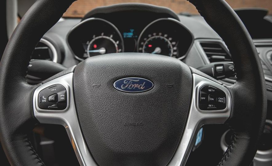 2014 Ford Fiesta 1.0L EcoBoost SFE sedan - Slide 40