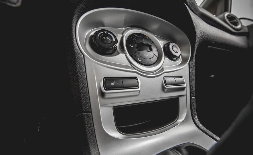 2014 Ford Fiesta 1.0L EcoBoost SFE sedan - Slide 44
