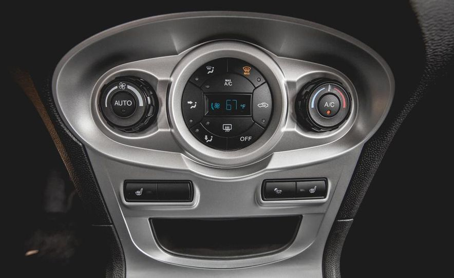 2014 Ford Fiesta 1.0L EcoBoost SFE sedan - Slide 45