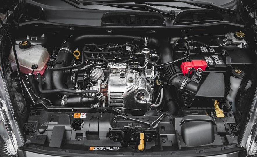 2014 Ford Fiesta 1.0L EcoBoost SFE sedan - Slide 50