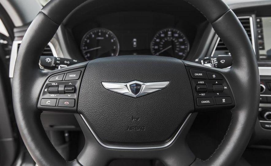 2015 Hyundai Genesis 3.8 HTRAC sedan - Slide 40