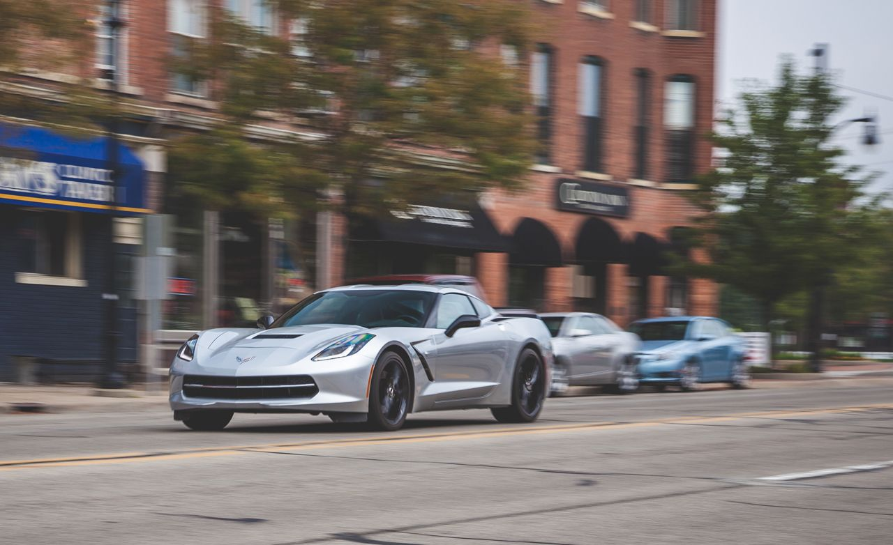 2014 Chevrolet Corvette Stingray Z51 Manual