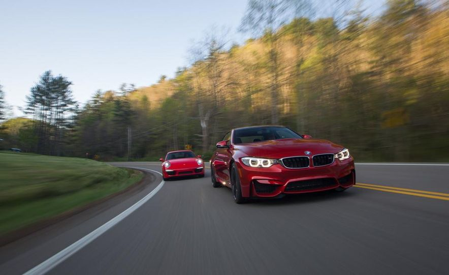 2014 Porsche 911 Carrera and 2015 BMW M4 coupe - Slide 6