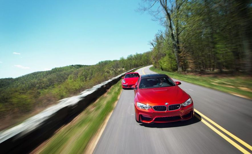 2014 Porsche 911 Carrera and 2015 BMW M4 coupe - Slide 7