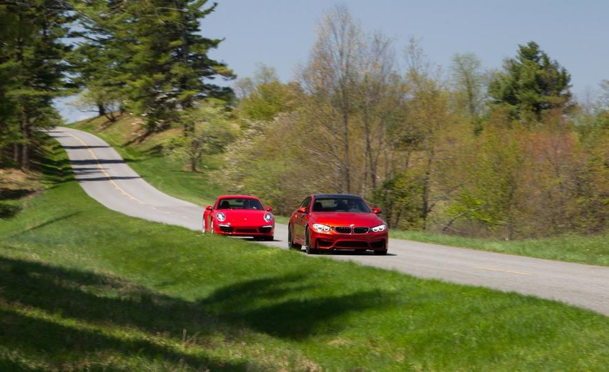 2014 Porsche 911 Carrera and 2015 BMW M4 coupe - Slide 8
