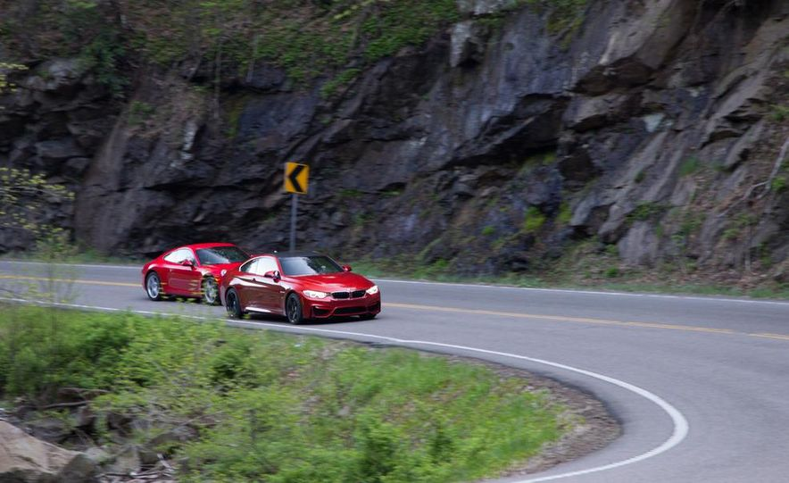 2014 Porsche 911 Carrera and 2015 BMW M4 coupe - Slide 9