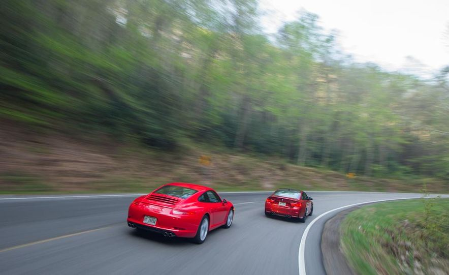 2014 Porsche 911 Carrera and 2015 BMW M4 coupe - Slide 12