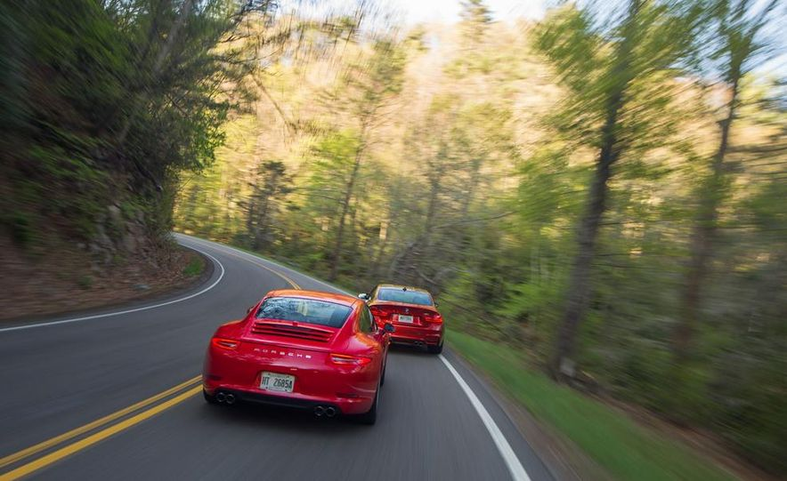 2014 Porsche 911 Carrera and 2015 BMW M4 coupe - Slide 13