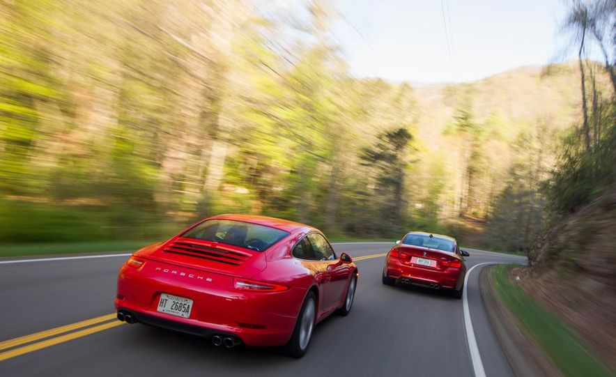 2014 Porsche 911 Carrera and 2015 BMW M4 coupe - Slide 14