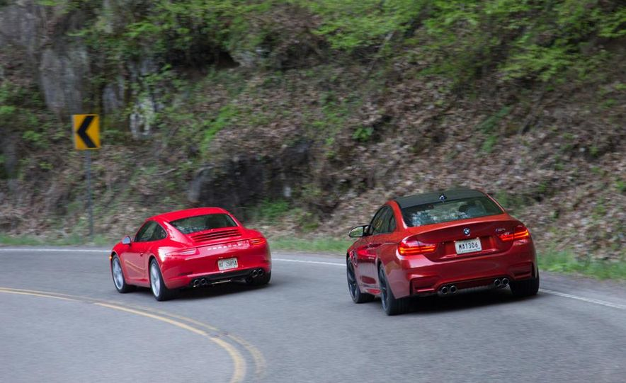 2014 Porsche 911 Carrera and 2015 BMW M4 coupe - Slide 17
