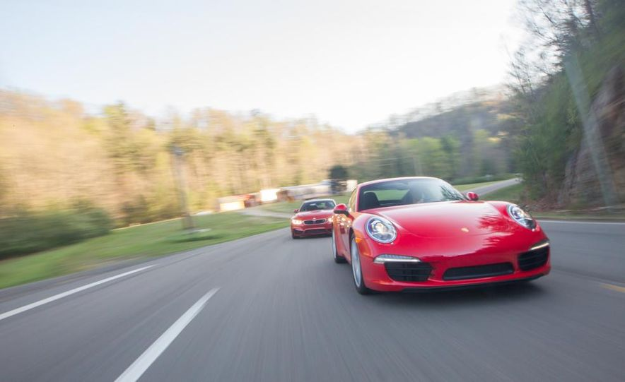 2014 Porsche 911 Carrera and 2015 BMW M4 coupe - Slide 5