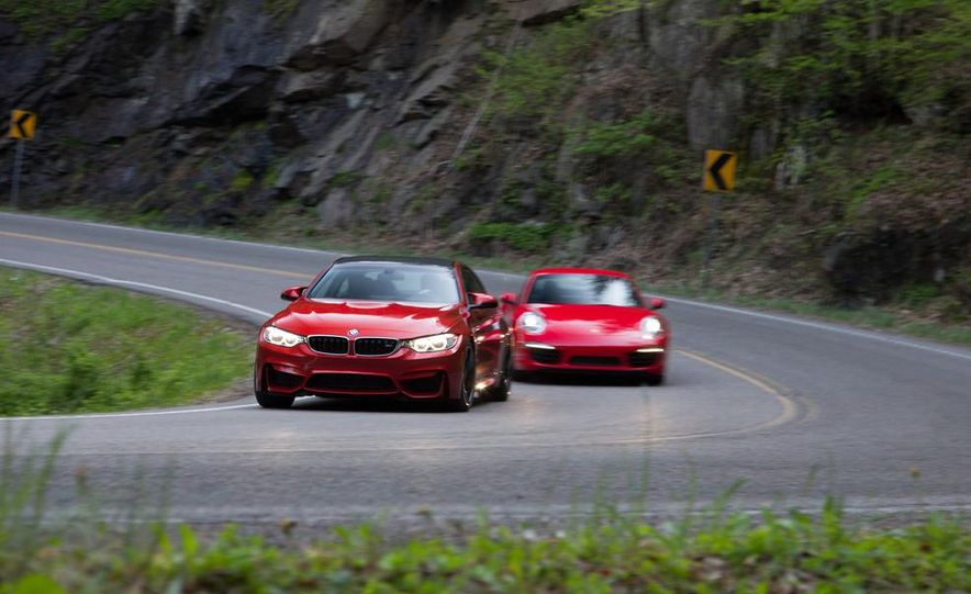 2014 Porsche 911 Carrera and 2015 BMW M4 coupe - Slide 10