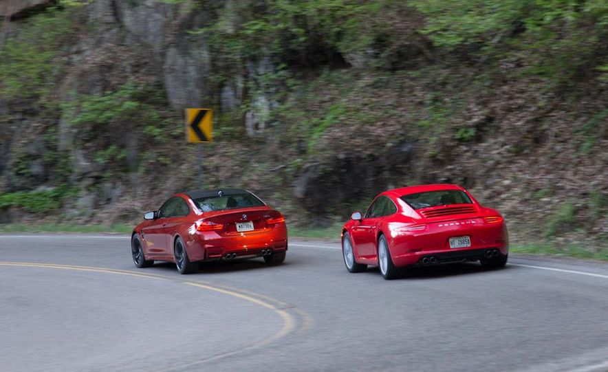 2014 Porsche 911 Carrera and 2015 BMW M4 coupe - Slide 15