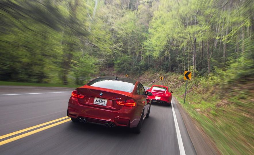 2014 Porsche 911 Carrera and 2015 BMW M4 coupe - Slide 16