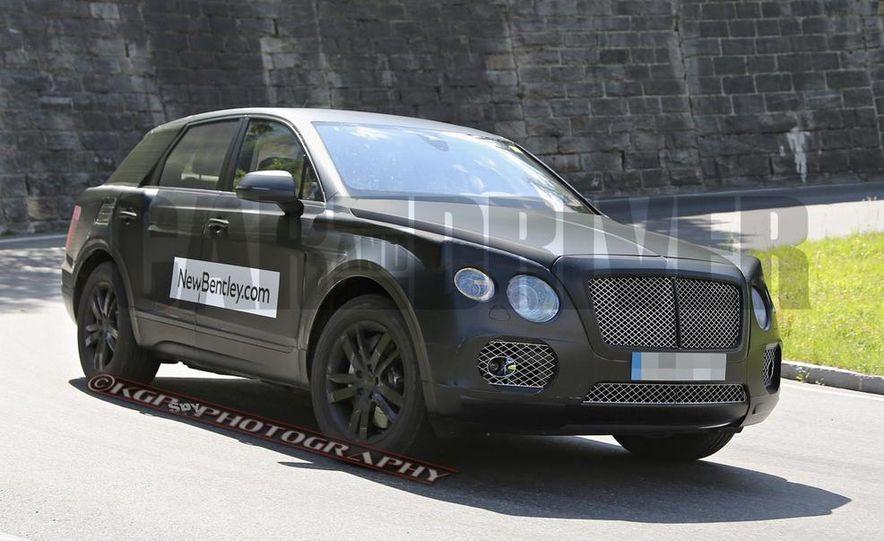 2016 Bentley SUV (spy photo) - Slide 2