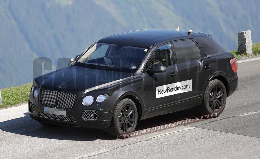 2016 Bentley SUV (spy photo) - Slide 3