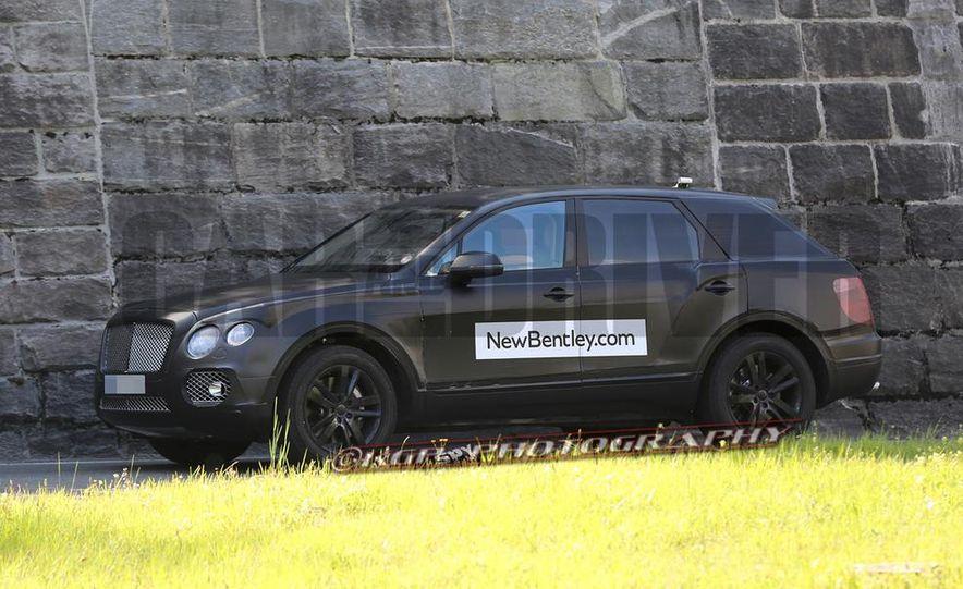 2016 Bentley SUV (spy photo) - Slide 5