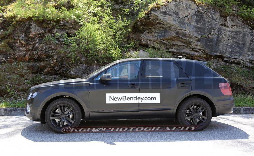 2016 Bentley SUV (spy photo) - Slide 7