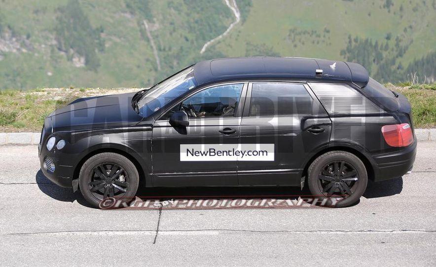 2016 Bentley SUV (spy photo) - Slide 8