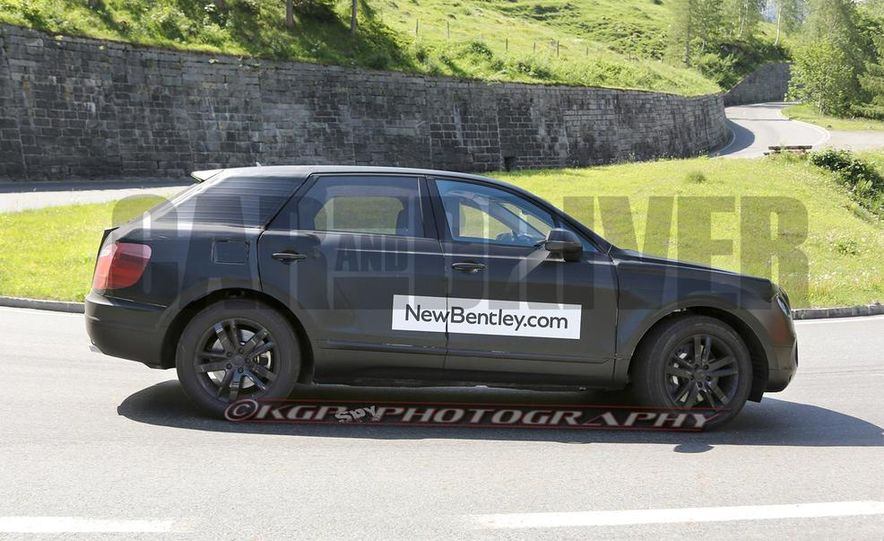 2016 Bentley SUV (spy photo) - Slide 9