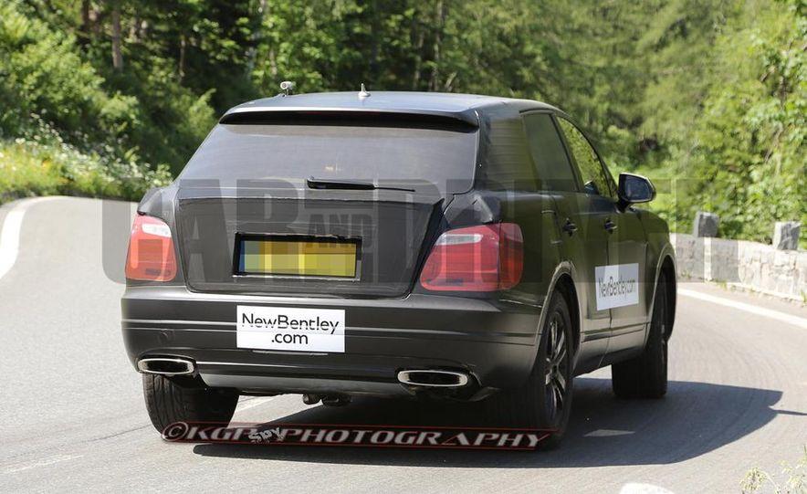 2016 Bentley SUV (spy photo) - Slide 12