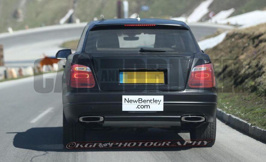 2016 Bentley SUV (spy photo) - Slide 16