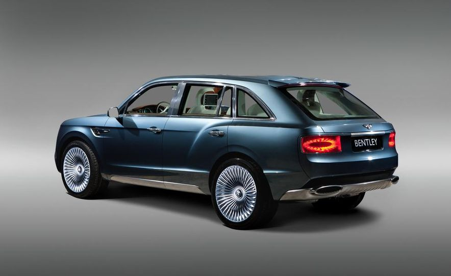 2016 Bentley SUV (spy photo) - Slide 24