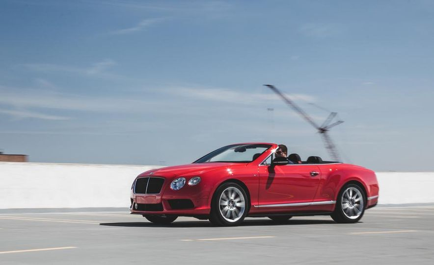 2014 Bentley Continental GT V8 S convertible - Slide 1