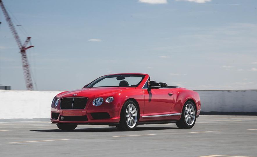 2014 Bentley Continental GT V8 S convertible - Slide 2