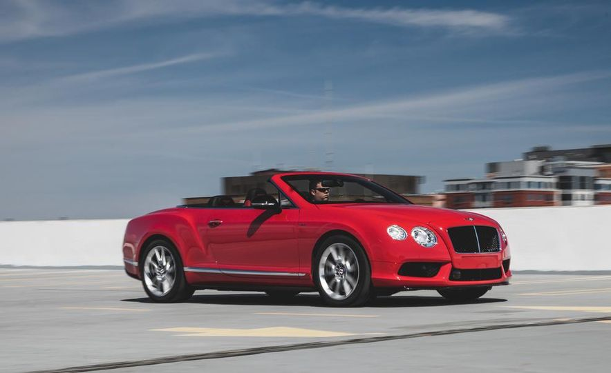 2014 Bentley Continental GT V8 S convertible - Slide 4