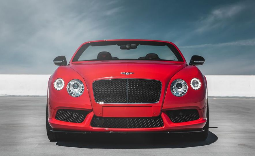 2014 Bentley Continental GT V8 S convertible - Slide 10