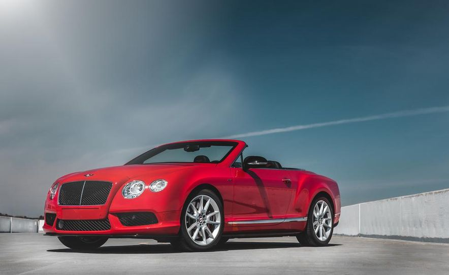 2014 Bentley Continental GT V8 S convertible - Slide 11