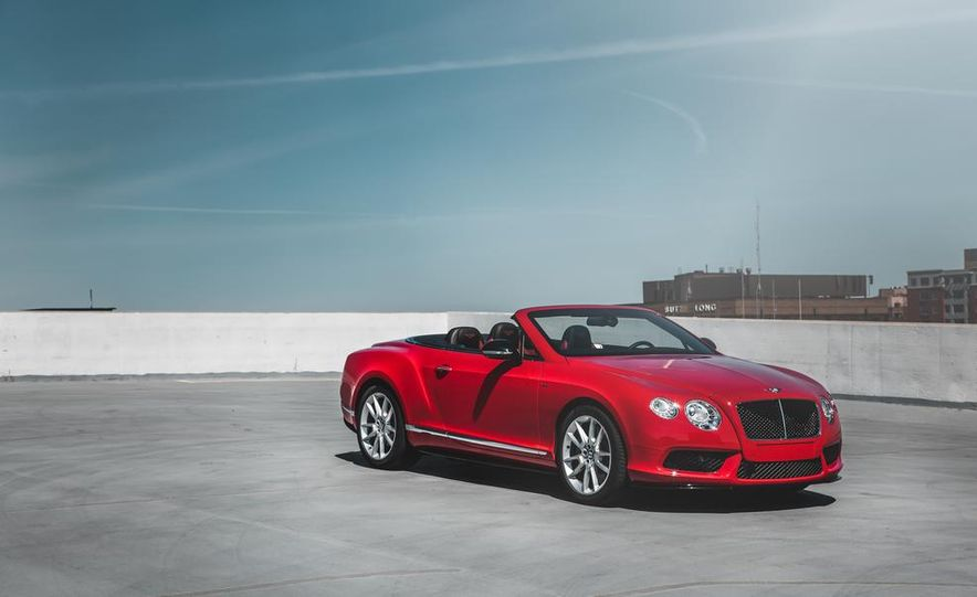 2014 Bentley Continental GT V8 S convertible - Slide 12