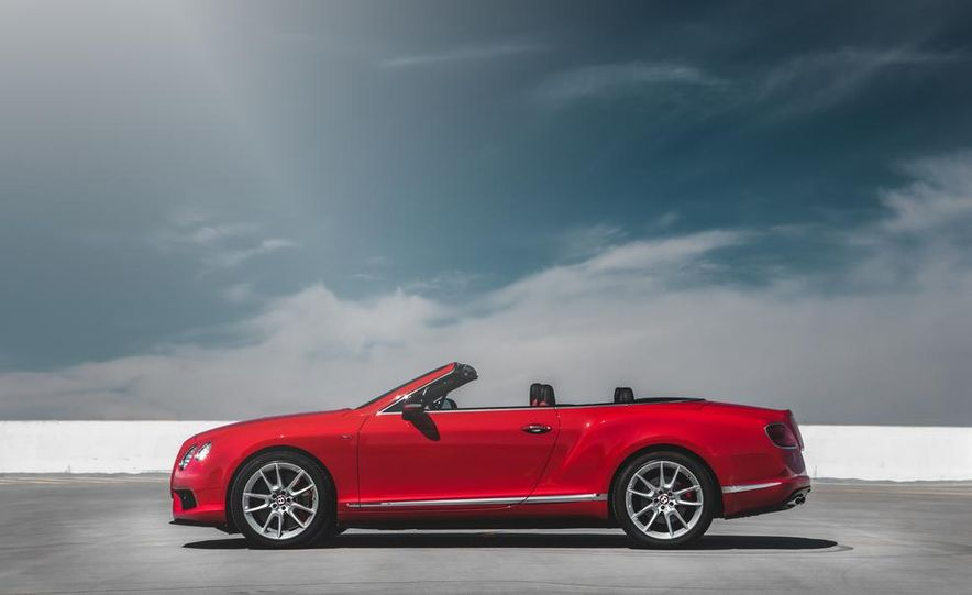 2014 Bentley Continental GT V8 S convertible - Slide 13