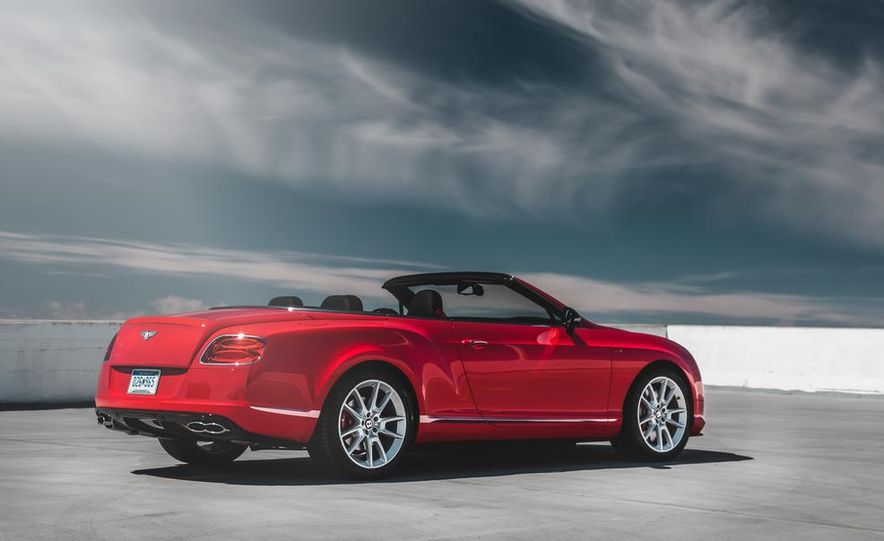 2014 Bentley Continental GT V8 S convertible - Slide 16