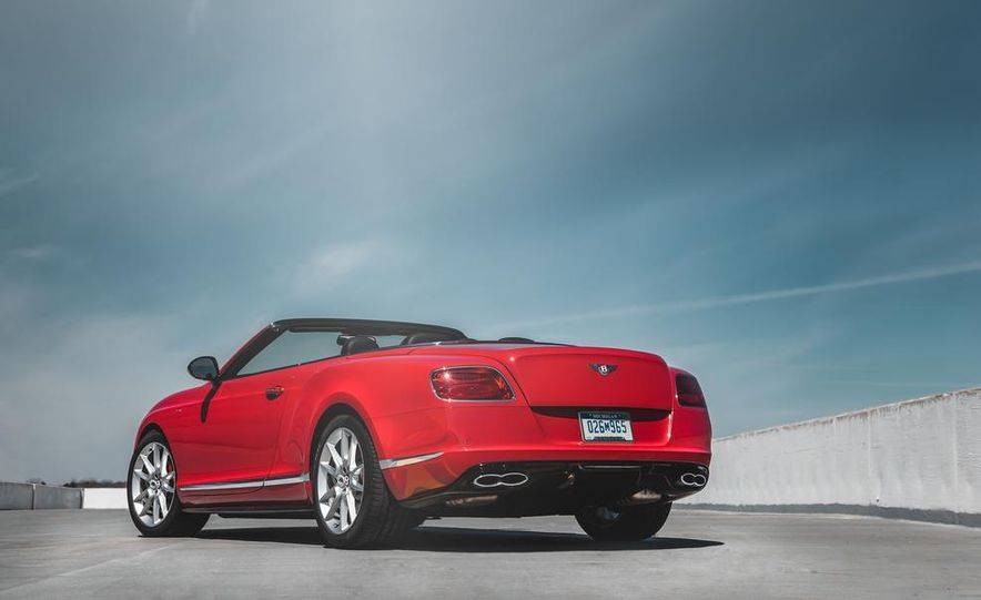 2014 Bentley Continental GT V8 S convertible - Slide 17